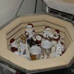 Porcelænsmaling - ovnen er lige åbnet efter brænding