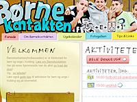 Link til Børnekontaktens hjemmeside